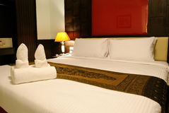 Hotel room in Thailand. Image Hotel room in Thailand Royalty Free Stock Image