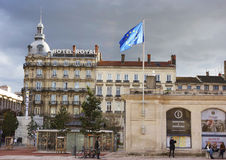 Hotel Royal and Only Lyon information center in Lyon Royalty Free Stock Photo