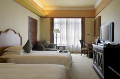 hotel ruimte royalty-vrije stock foto's