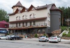 Hotel Russia di affari a stazione turistica di Belokurikha nel Altai Krai Fotografia Stock