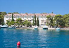 The hotel's Carmen, Briony. Croatia. Royalty Free Stock Images