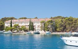 The hotel's Carmen,  Briony. Croatia. Royalty Free Stock Image