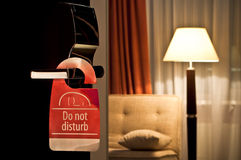 Hotel`s door Royalty Free Stock Photography