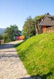 The hotel's Laundry Mechavnik in Drvengrad, Serbia royalty free stock photo
