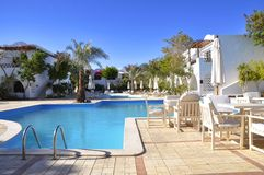 Hotel Sabena Marmara in Sharm-El-Sheikh Stock Photos