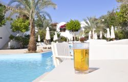 Hotel Sabena Marmara in Sharm-El-Sheikh Royalty Free Stock Images