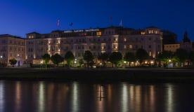 Hotel Sacher Salzburg Stock Photography