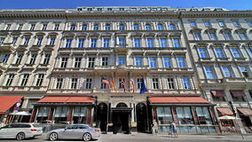 Hotel Sacher Vienna Stock Photo