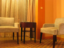 hotel salon. Fotografia Stock
