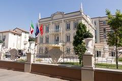 Hotel in salsomaggiore Italië Royalty-vrije Stock Afbeelding
