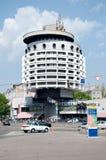 Hotel Salyut in Kiev, de Oekraïne Royalty-vrije Stock Fotografie