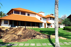 The hotel Saman Villas Royalty Free Stock Image