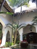 Hotel in Sansibar Stockfotografie
