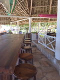 Hotel in Sansibar Lizenzfreies Stockfoto