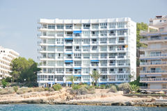 Hotel between Santa Ponsa and Peguera Royalty Free Stock Images