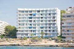 Hotel between Santa Ponsa and Peguera Royalty Free Stock Images