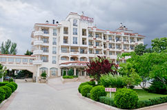 Hotel Scarlet Sails in Feodosia Stock Photography