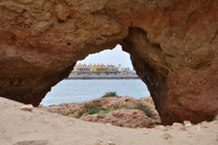 Hotel Scenery of Portimao, Algarve, Portugal. Europe Stock Image