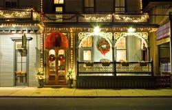 hotel sceny wiktoriańskie ulic Fotografia Royalty Free