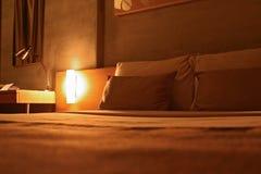 Hotel-Schlafzimmer stockbilder