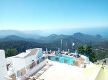 Hotel Seraïdi di Montazah immagine stock libera da diritti