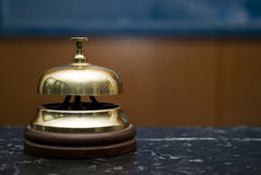 Hotel service bell Stock Images
