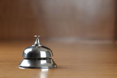 Hotel service bell Royalty Free Stock Images