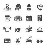 Hotel service icon set 3, vector eps10 Stock Images