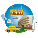 Hotel service Stock Images