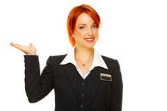 Hotel service people Stock Images