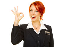 Hotel service people Royalty Free Stock Photos