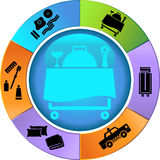 Hotel Service Wheel 2 Stock Images