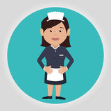 Hotel services icon Royalty Free Stock Images