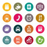Hotel services icons stock illustration