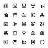 Hotel Services Vector Icons 1 Royalty Free Stock Photos