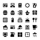 Hotel Services Vector Icons 3 Royalty Free Stock Images