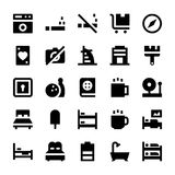 Hotel Services Vector Icons 4 Royalty Free Stock Photos
