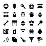 Hotel Services Vector Icons 10 Royalty Free Stock Photo