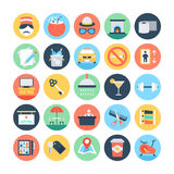Hotel and Services Vector Illustrations 3. With the holidays coming up, tons of people are getting ready for all kinds of travel and stay in hotels. Pull that Stock Image