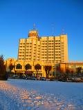 Hotel Seven days, Kamenets Podolskiy, Ukraine Stock Photo