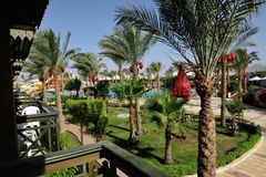 Hotel. Sharm-El-Sheikh. Royalty Free Stock Image