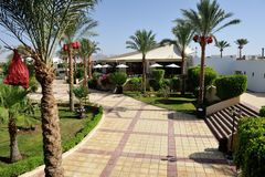Hotel. Sharm-El-Sheikh. Royalty Free Stock Photo