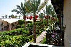 Hotel. Sharm-El-Sheikh. Royalty Free Stock Photography