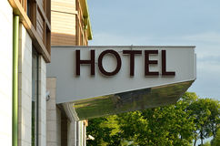 Hotel Sign Royalty Free Stock Photos