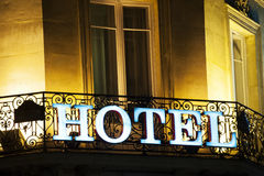 Free Hotel Sign Royalty Free Stock Photo - 27516625
