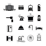 Hotel sign icons vector Royalty Free Stock Image