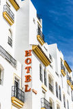 Hotel sign Royalty Free Stock Images