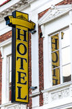 Hotel Sign Lund Royalty Free Stock Images
