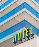 Hotel sign a Royalty Free Stock Photography