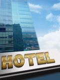 Hotel Signboard Royalty Free Stock Images